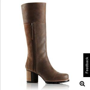 Sorel Addington Tall leather boots